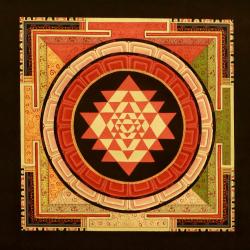 Sri-yantra-Mandala